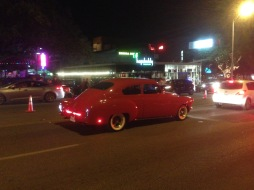 Car on South Congress